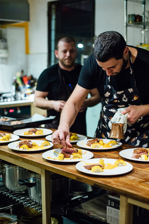 ארוחות שף בצפון   סטודיו אוכל - בית ליצירה קולינרית בגליל