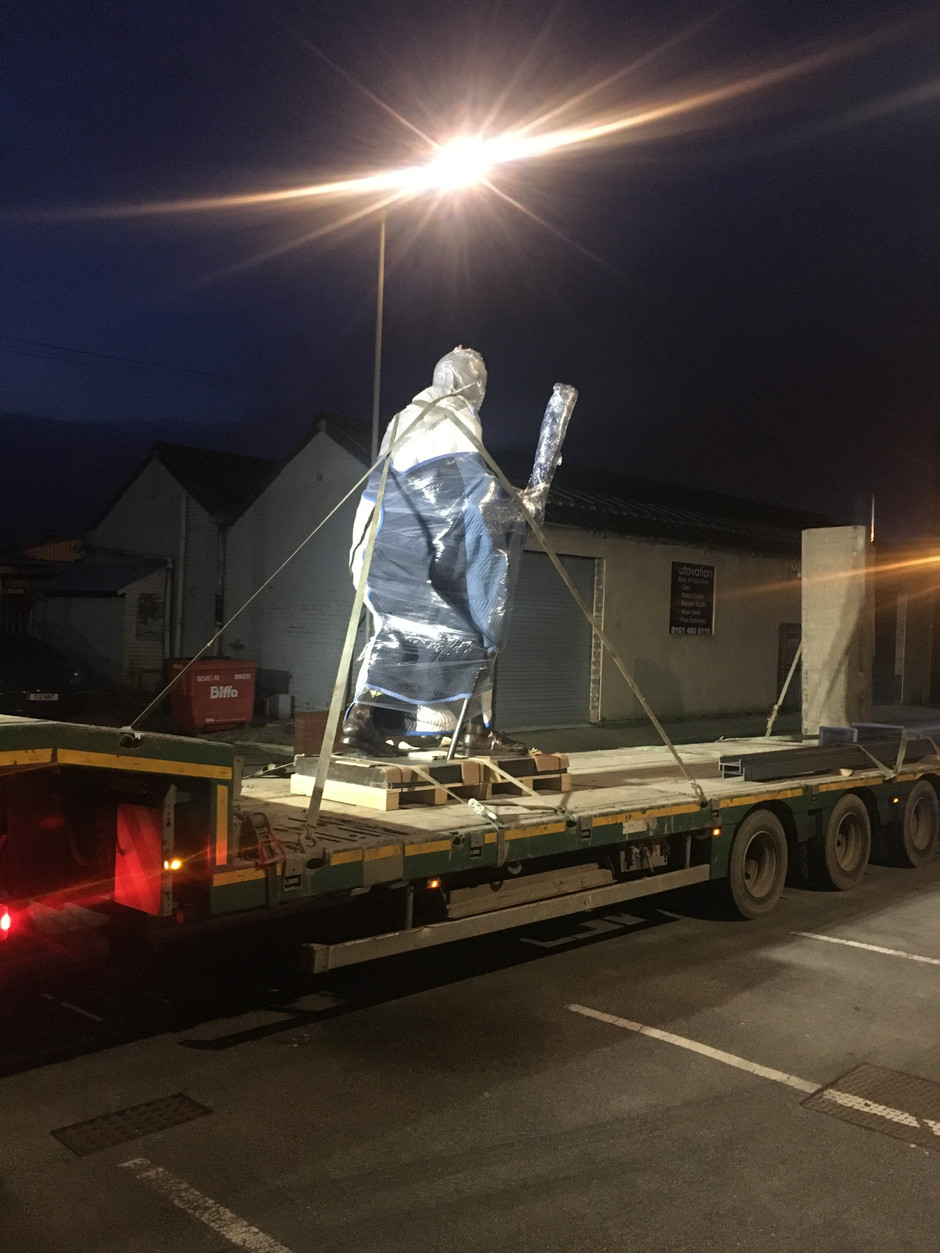Adana Install Gandhi Statue at Manchester Cathedral