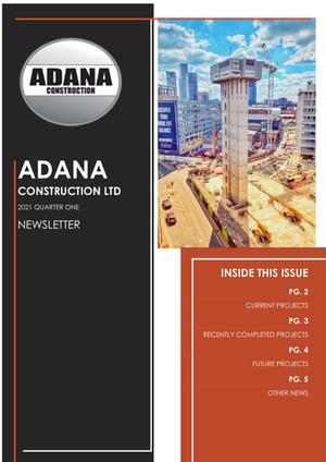 Adana Newsletter Quarter 1 - 2021