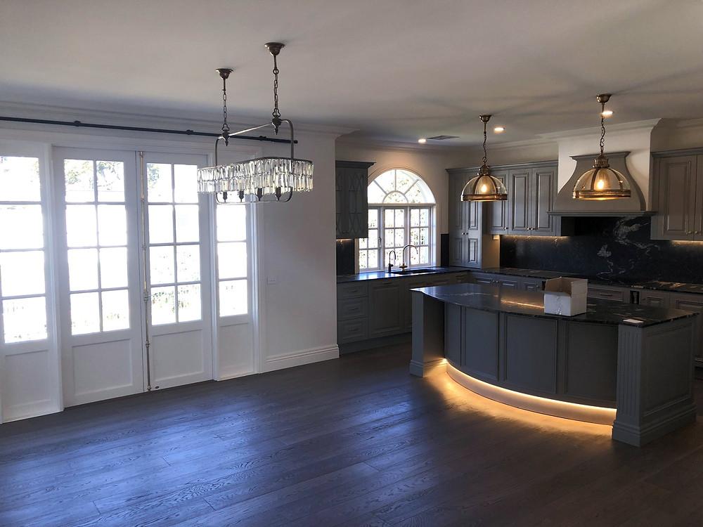 Interior Kitchen Painting Brighton