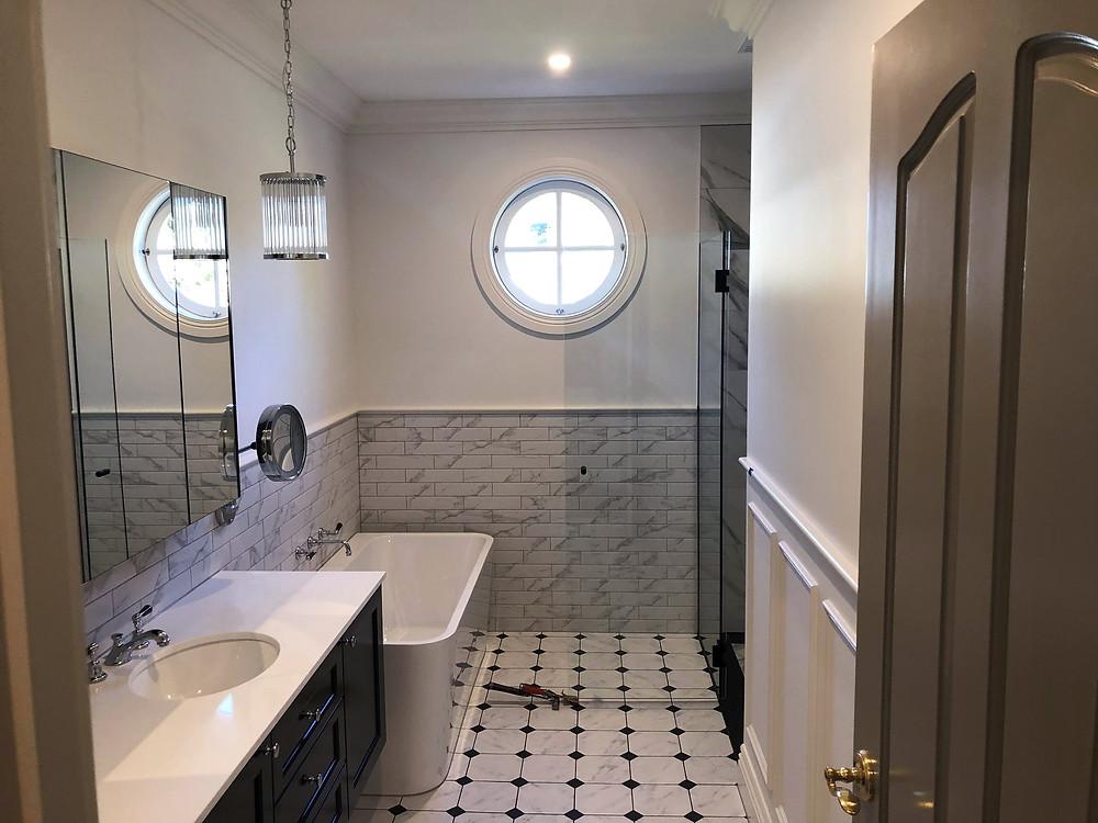 Interior Bathroom Painting Services Brighton