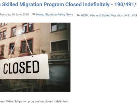 """""""新闻:技术移民关闭了?""""–––— 新桥带你正确解读本次技术移民暂缓"""