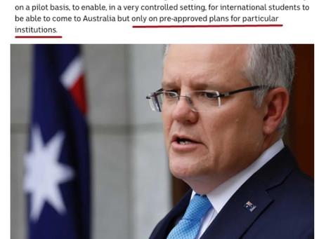 澳洲禁令延长到了9月!留学生可以提前回澳究竟靠不靠谱?