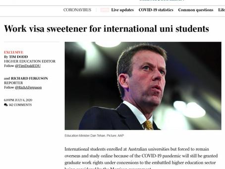 485签证可能将海外读书时间算入申请