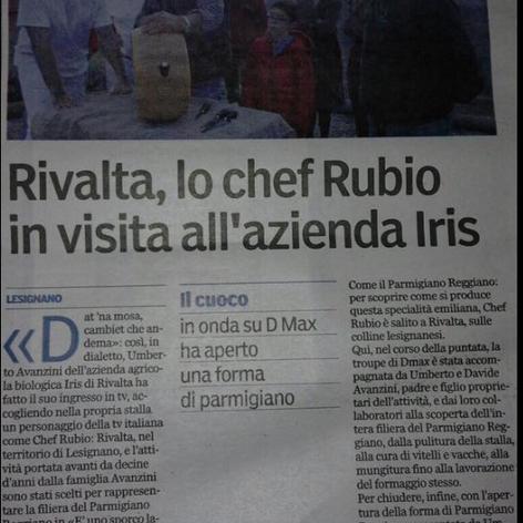 Chef Rubio da Iris - Uno sporco lavoro - 2018
