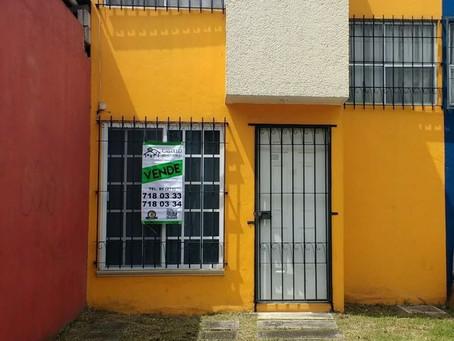 CASA EN VENTA CERRADA ORQUIDEA L.7 M.8 #7 VILLAS DE LA LLAVE FORTIN, VER.