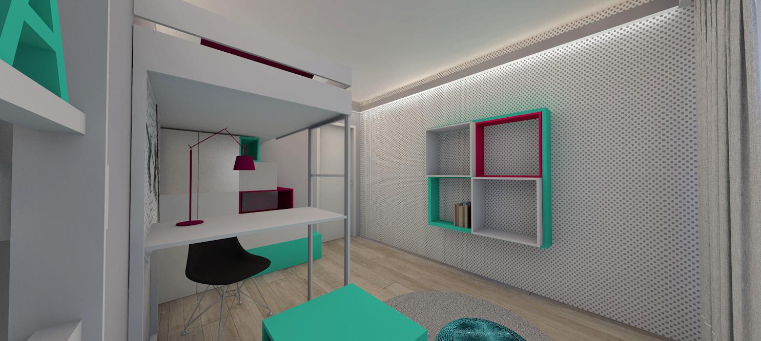 Pokój Martynki- Bronów