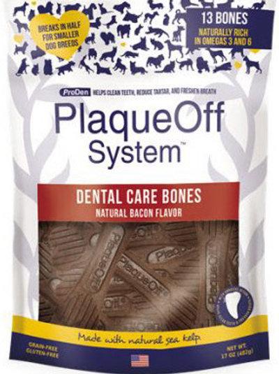 Dental Care Bones Natural Bacon 17 oz 13ct