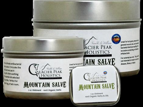 Glacier Peak Mountain Salve 4 oz Tin