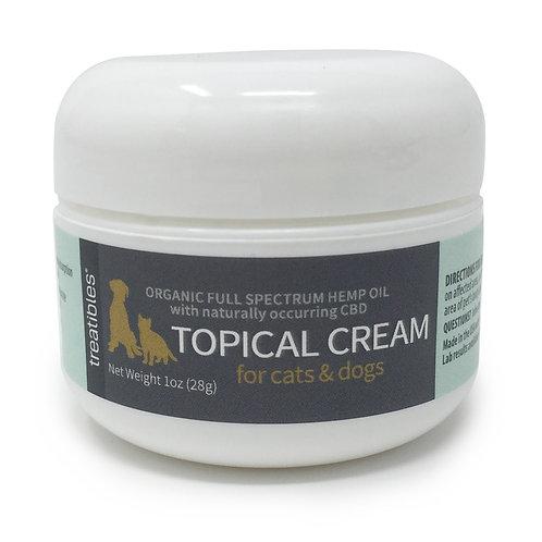 Hemp Oil Topical Cream 1 oz/60 mg for Felines & Canines