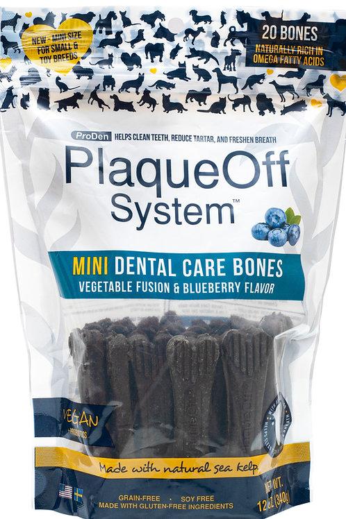 Mini Dental Bones Vegetable Fusion & Blueberry 12 oz