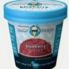 6 ozSmart Scoops Goat's Milk Ice Cream Mix - Blueberry