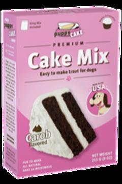 9 oz Puppy Cake Mix  - Carob Flavored