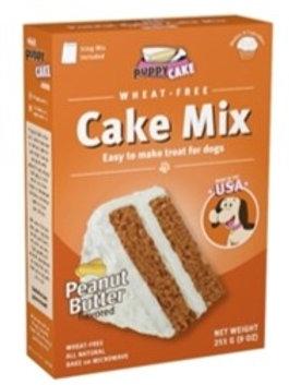 9 oz Puppy Cake Mix  - Peanut Butter (wheat free)