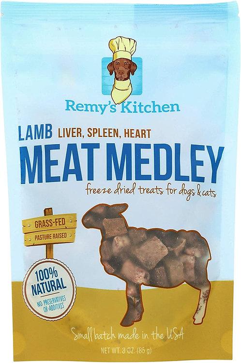 LAMB MEAT MEDLEY  3 oz