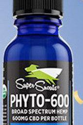 600 mg. Water Soluble Cert. Organic Broad Spectrum CBD