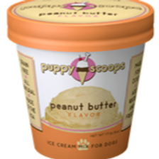 6 ozPuppy Scoops Ice Cream Mix - Peanut Butter