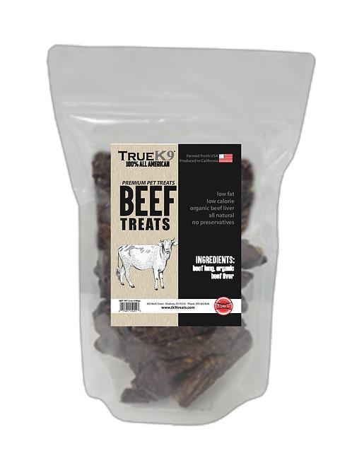 True K9 Beef Treats 8 oz