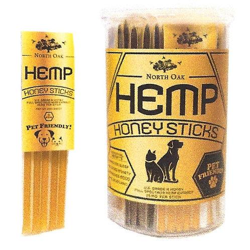 Hemp Honey Sticks 5 pk - 20/5pk per Jar