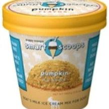 6 ozSmart Scoops Goat's Milk Ice Cream Mix - Pumpkin