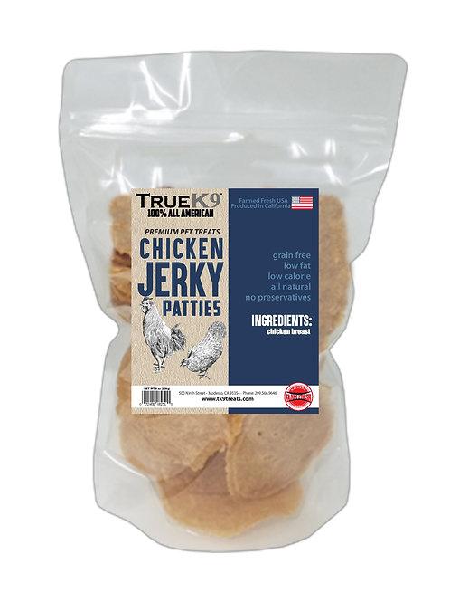 True K9 Chicken Jerky Patties 16 oz