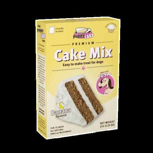 9 oz Puppy Cake Mix - Banana (wheat free)