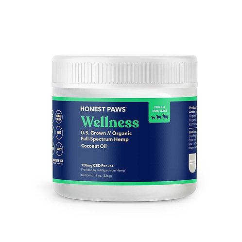 Wellness Hemp Infused Coconut Oil 11.5 oz