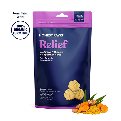 Relief/Strain Bites 9.5oz Bag