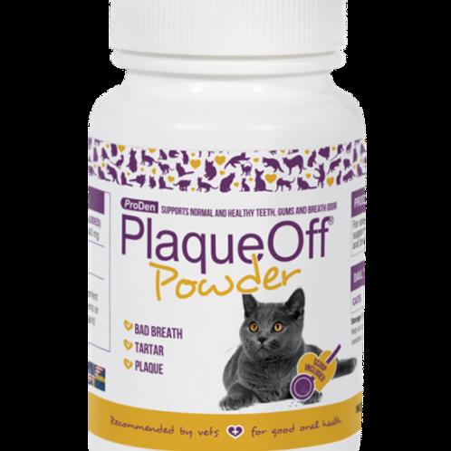 Plaque Off Powder Cat 40gr. Bottle
