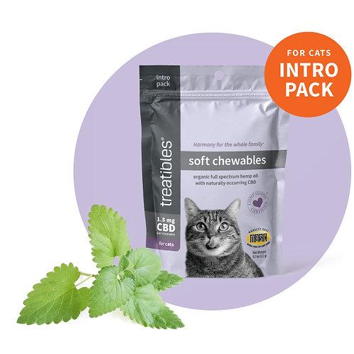 Soft Hemp Feline Chews 1.5 oz Intro Pack