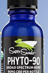 90 mg. Water Soluble Cert. Organic Broad Spectrum CBD