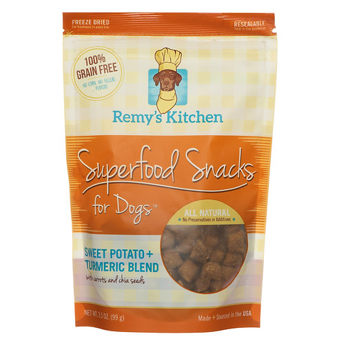 SWEET POTATO+TURMERIC FOR DOGS 3.5 oz