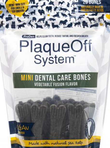 Mini Dental Bones Vegetable Fusion 12 oz
