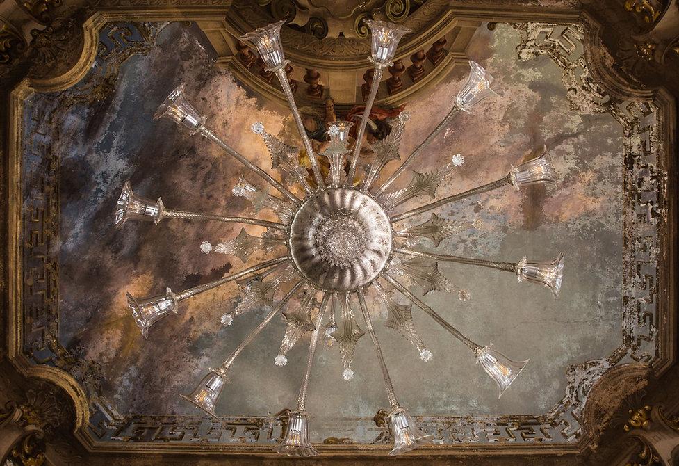 Lampadario Salone Location Dimora storic