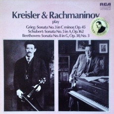 Kreisler and Rachmaninoff