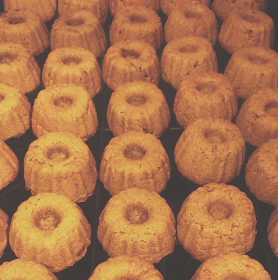 GFDF Spicy Pumpkin Donuts