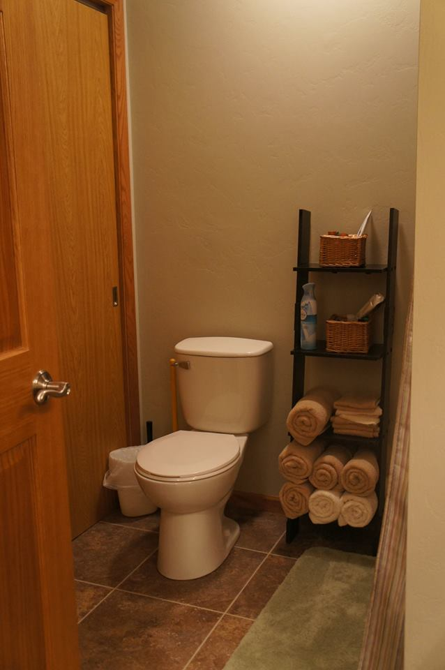 Bathroom: Downstairs