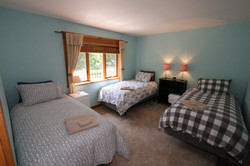 Bedroom 1: Upstairs