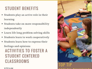 How can you create a student centered classroom??