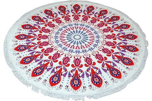Mandala okrogla brisača Premium Cotton