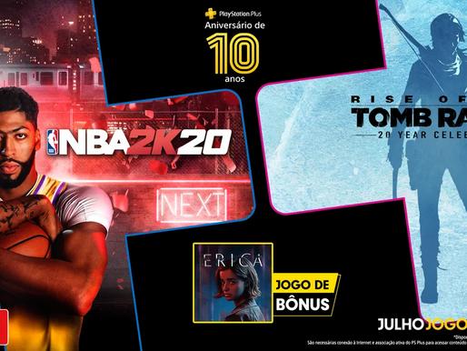 Jogos Gratuitos do Mês de Julho da Playstation Plus