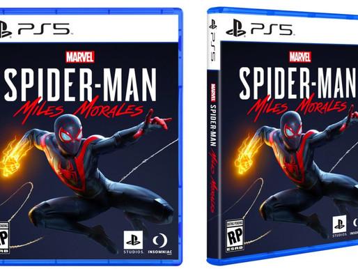 Sony Revela Arte da Capa do Marvel's Spider-Man: Miles Morales
