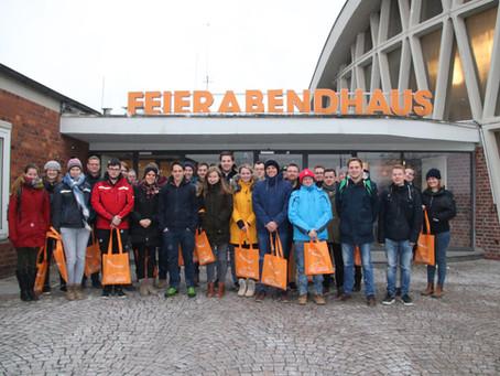 Exkursion zum Chemiepark Knapsack