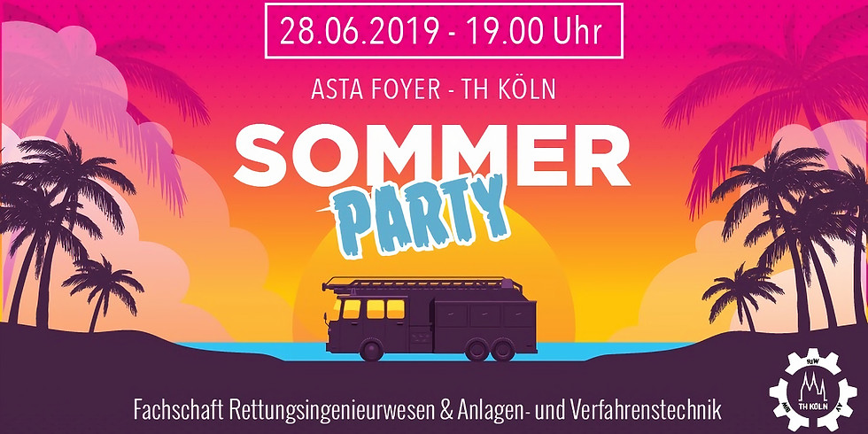 Sommersemesterparty 2019