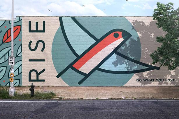 RISE brand creation