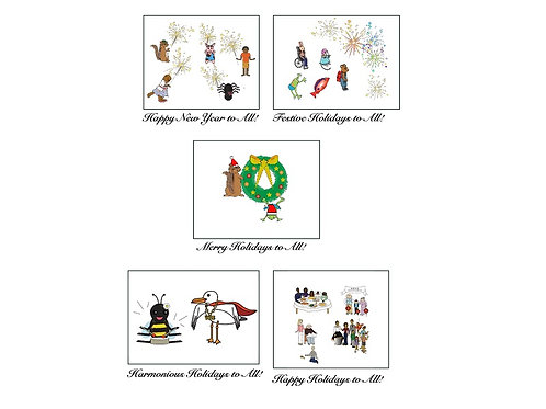 Holiday Cards (10 cards)