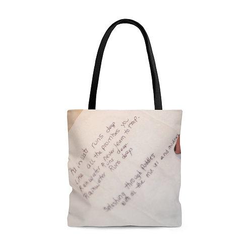 Lyric Tote Bag Large