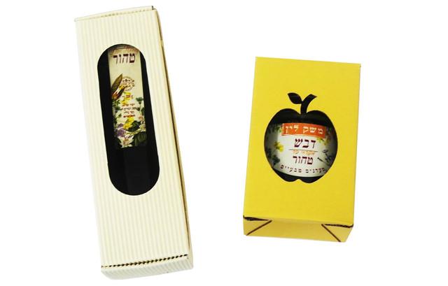 קופסאות לצנצנות דבש