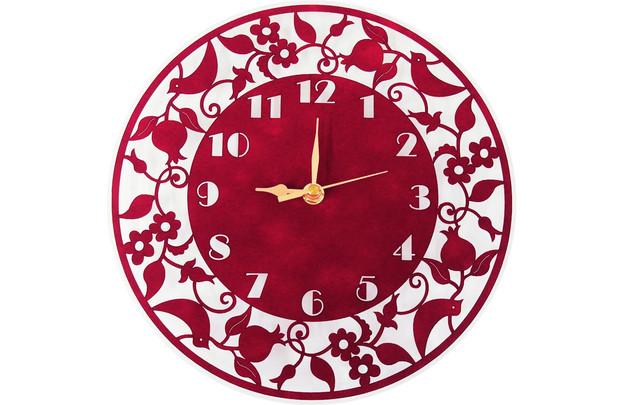 """שעון קטיפה קוטר 26 ס""""מ"""