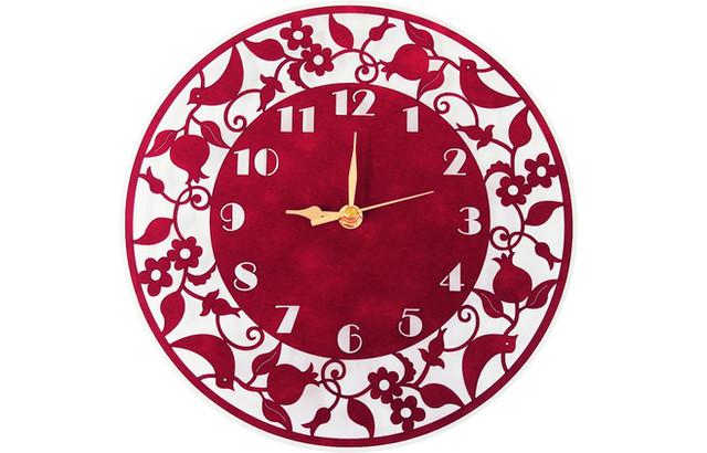 שעון קטיפה קוטר 26 ס-מ